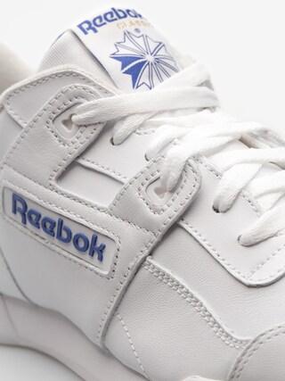 Reebok Shoes Workout Plus (white/royal)