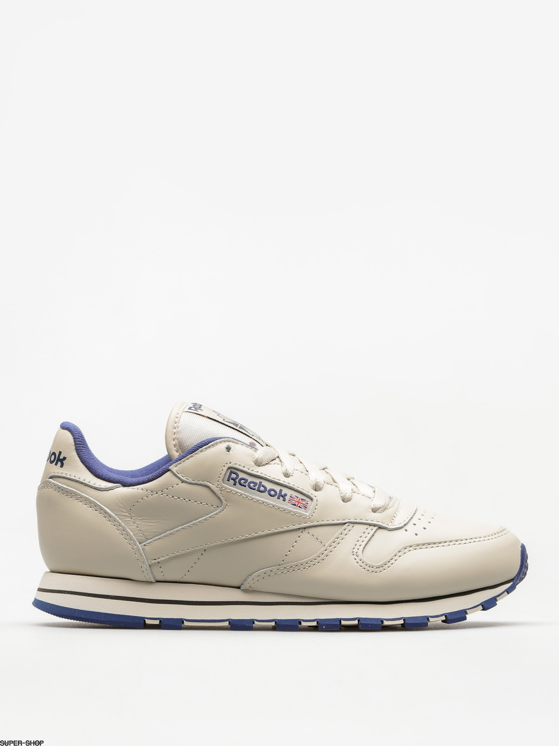 Reebok Shoes Cl Lthr Wmn (ecru/navy)