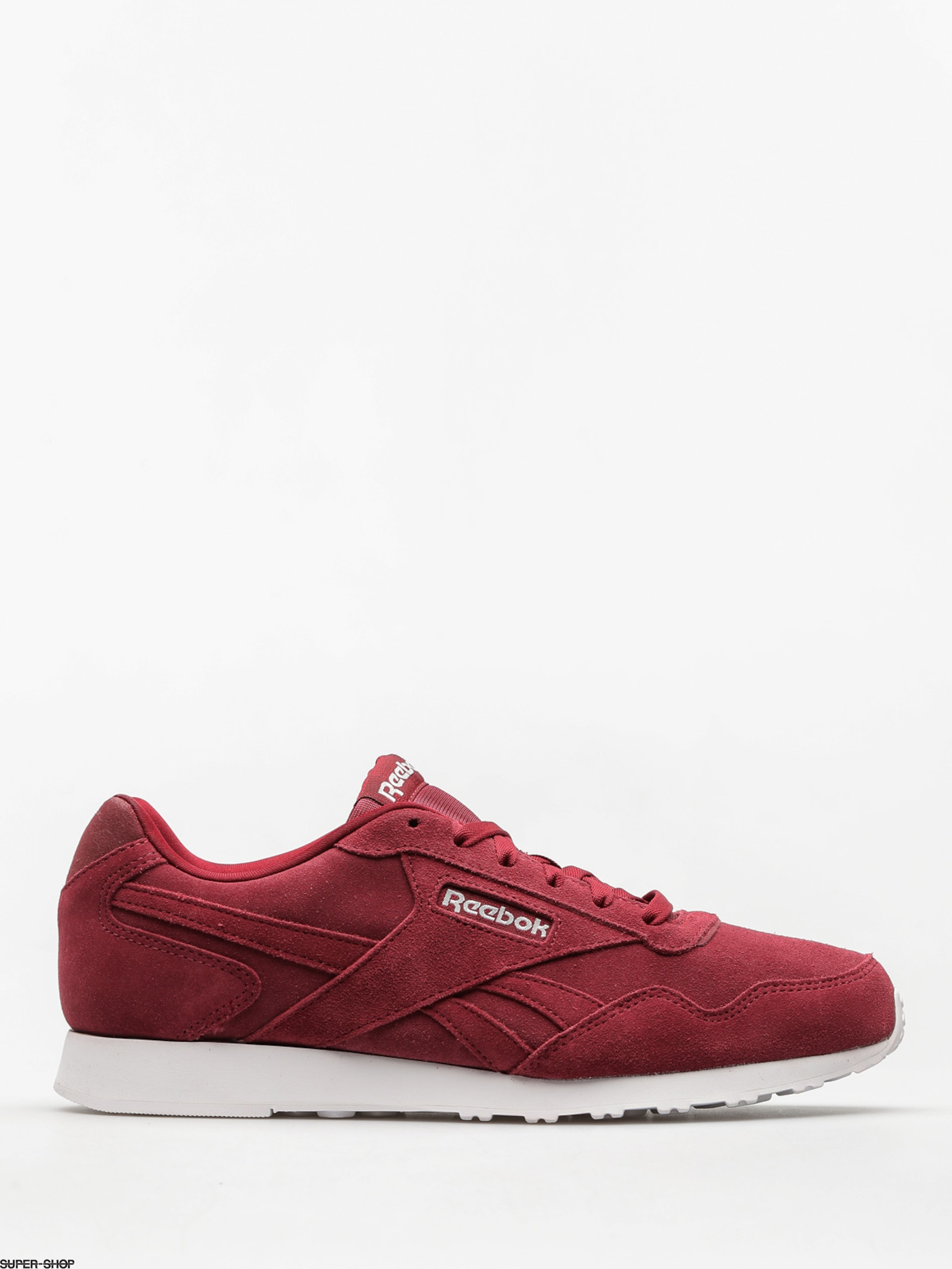Reebok Shoes Royal Glide (collegiate burgundy/white)