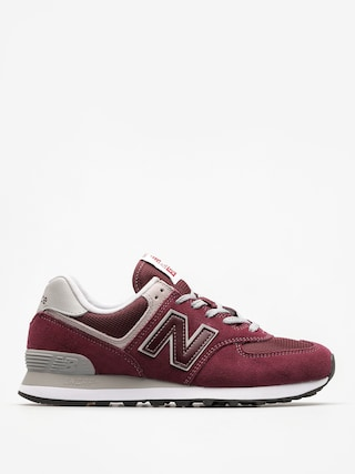 New Balance Shoes 574 (burgundy)