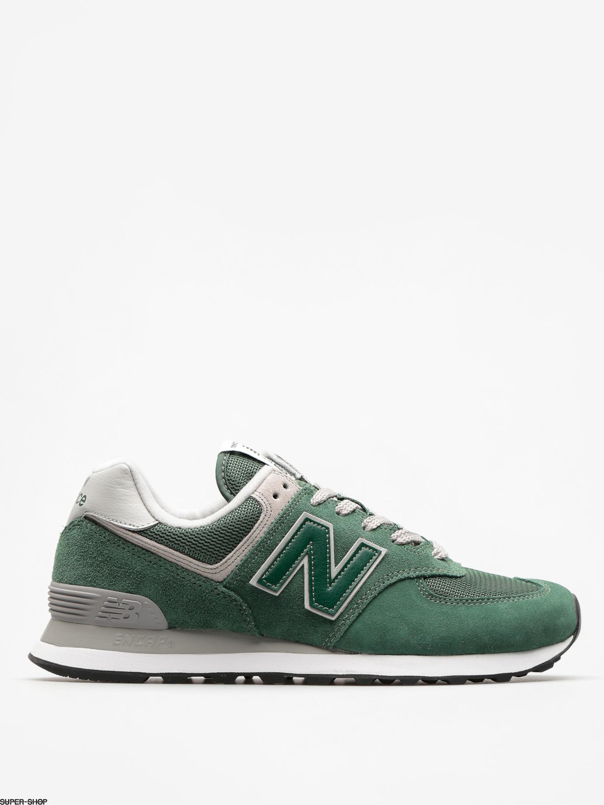 new balance 574 forest green