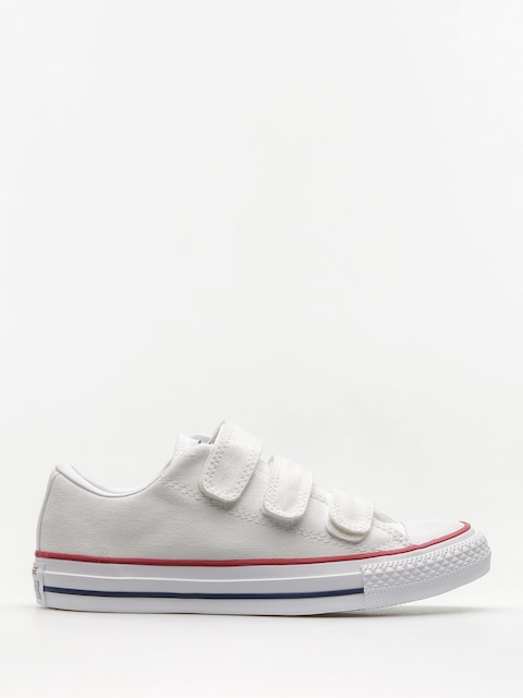 Converse Chucks Chuck Taylor All Star 3V Ox Wmn (white/insignia blue/garnet)
