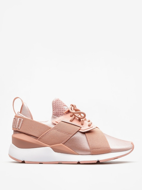 Puma Shoes Muse Satin Ep Wmn (peach beige/puma white)
