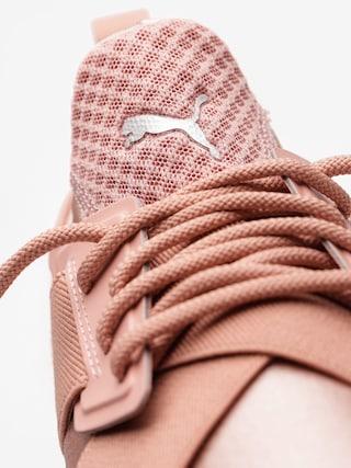 Puma Schuhe Muse Satin Ep Wmn (peach beige/puma white)