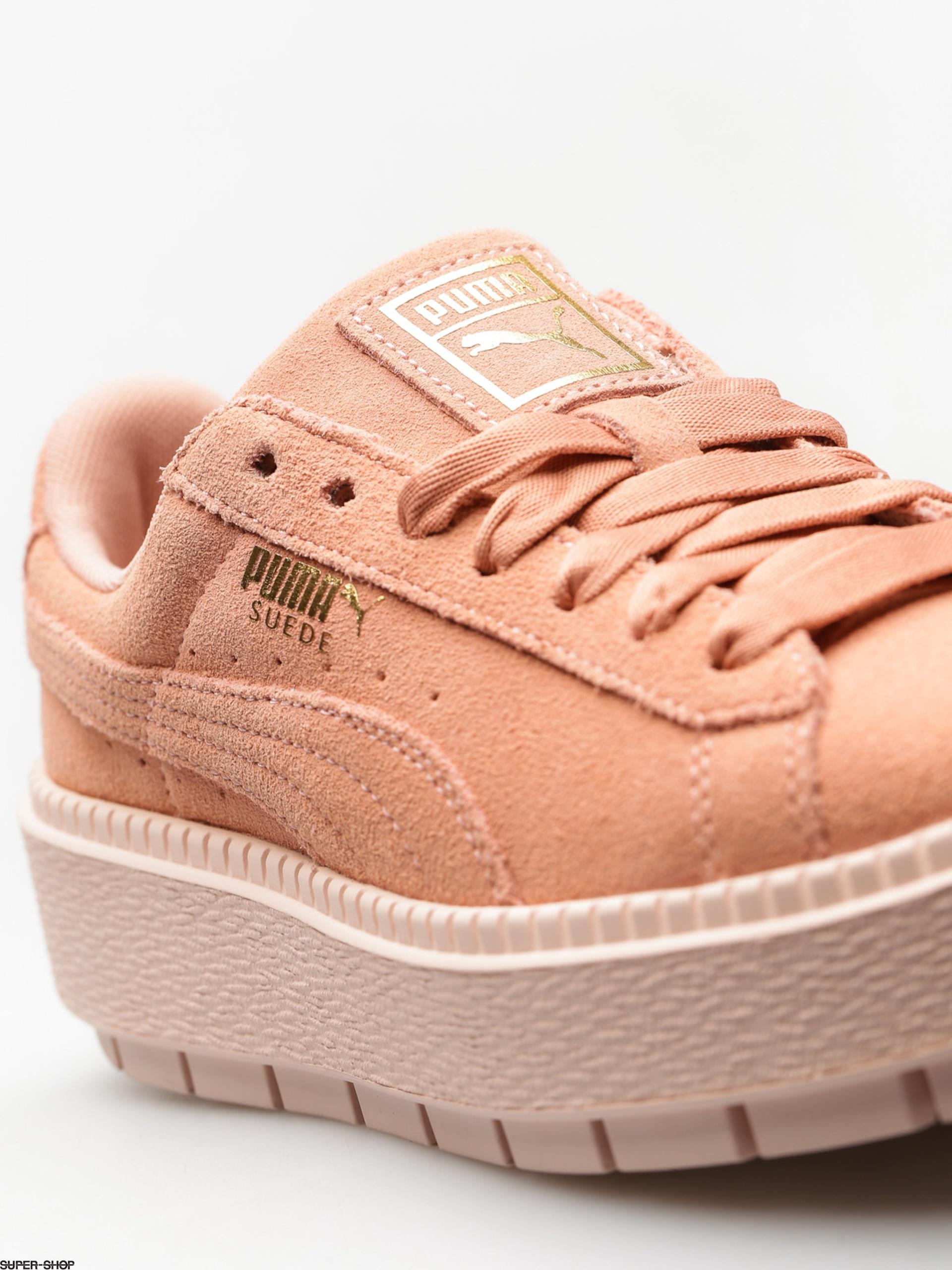 Puma Shoes Platform Trace Wmn (peach