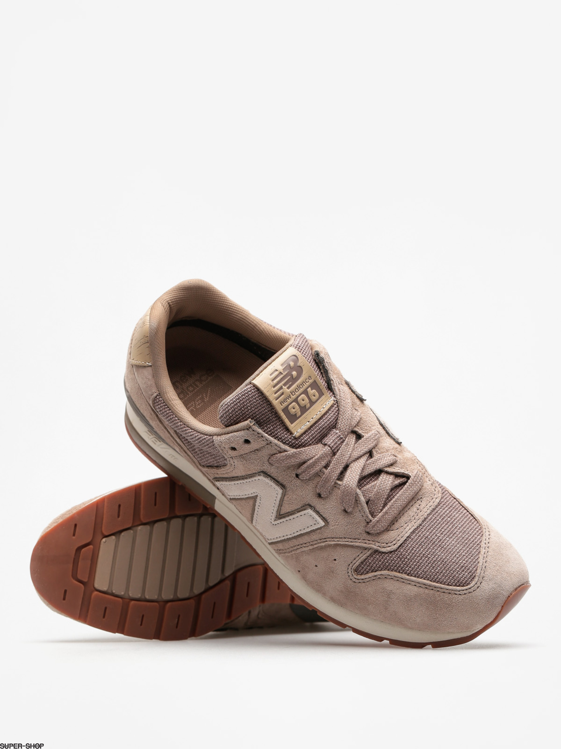 info for b0043 490a8 New Balance Shoes 996 (mushroom)