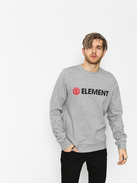 Element Sweatshirt Blazin Crew (grey heather)