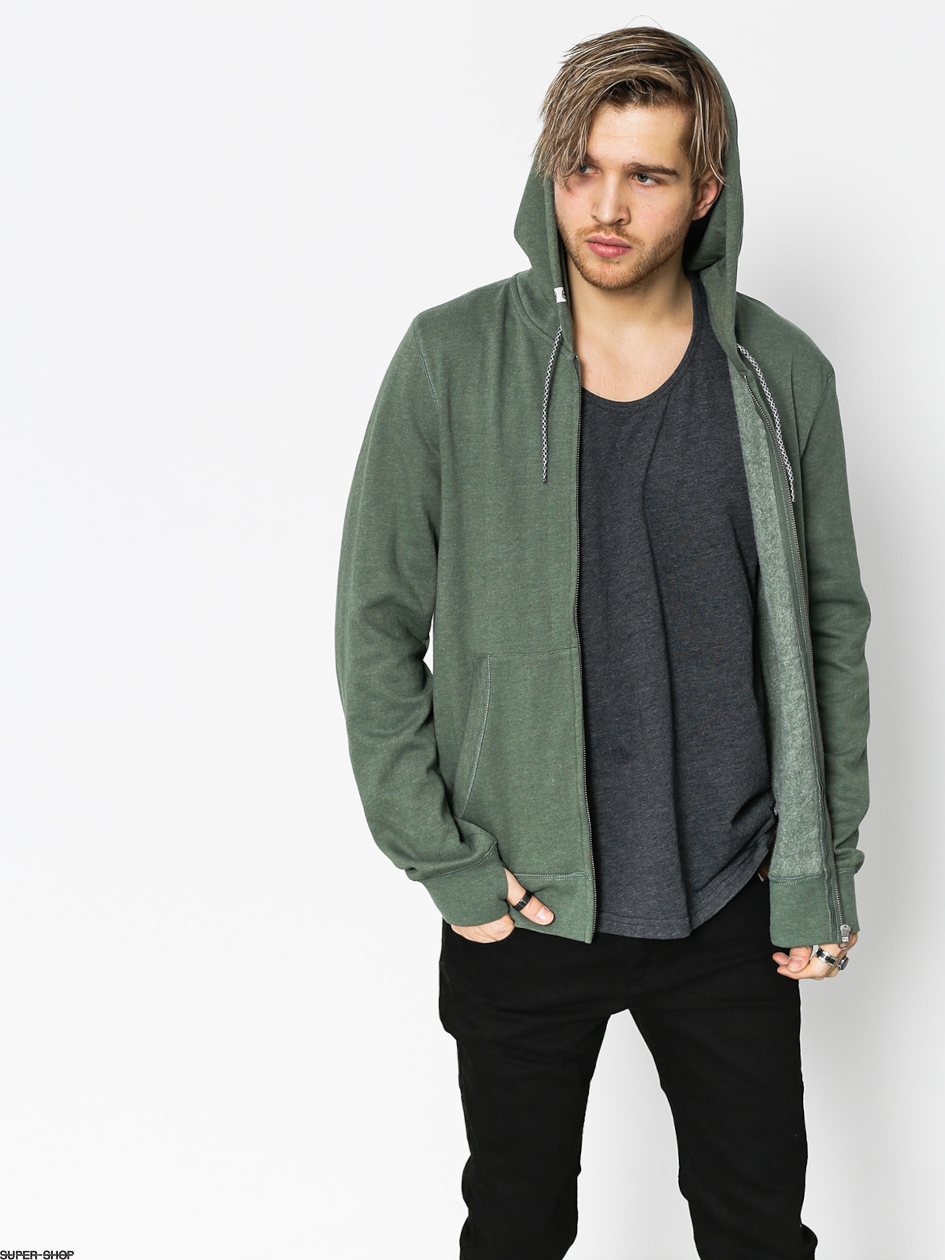 Overdye Green Cornell Hoodie Element Zip Duck pIwzg