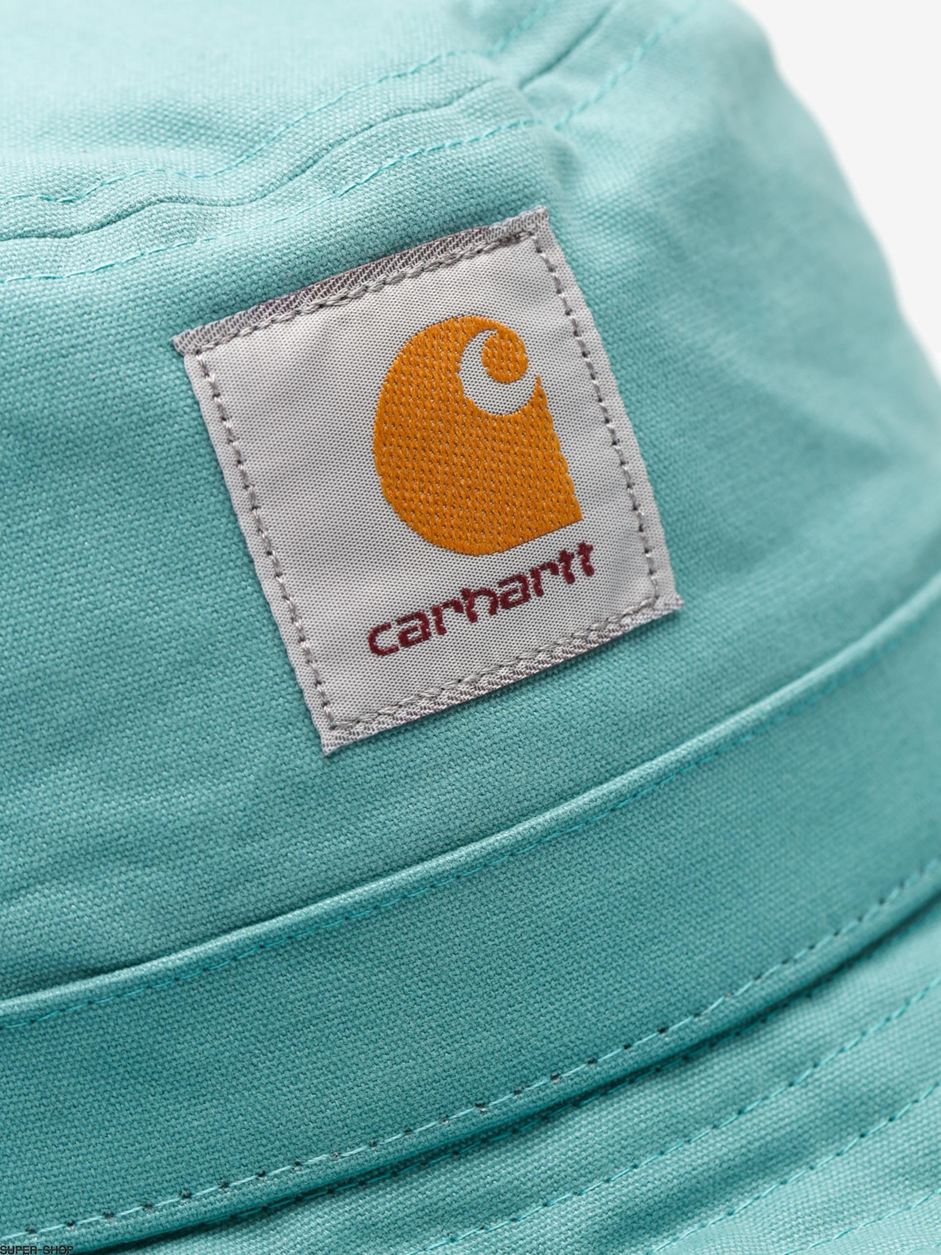 15d9cef0 Carhartt Hat Watch Bucket (soft teal)