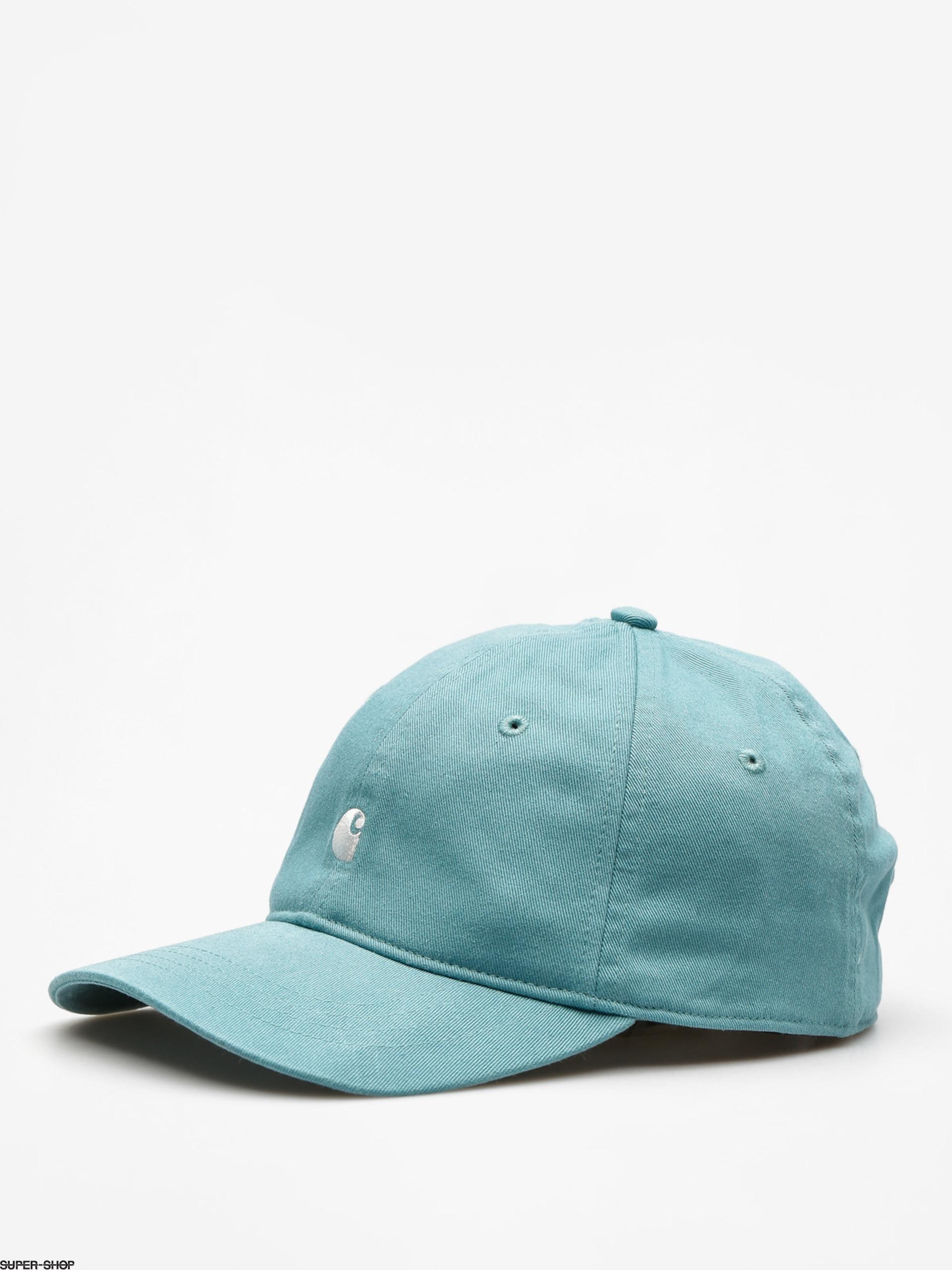 6ef3ab4ed9edf9 new zealand carhartt wip hats madison logo baseball cap navy blue from  village b04dd af0bf; czech carhartt cap madison logo zd soft teal white  446da 4653e