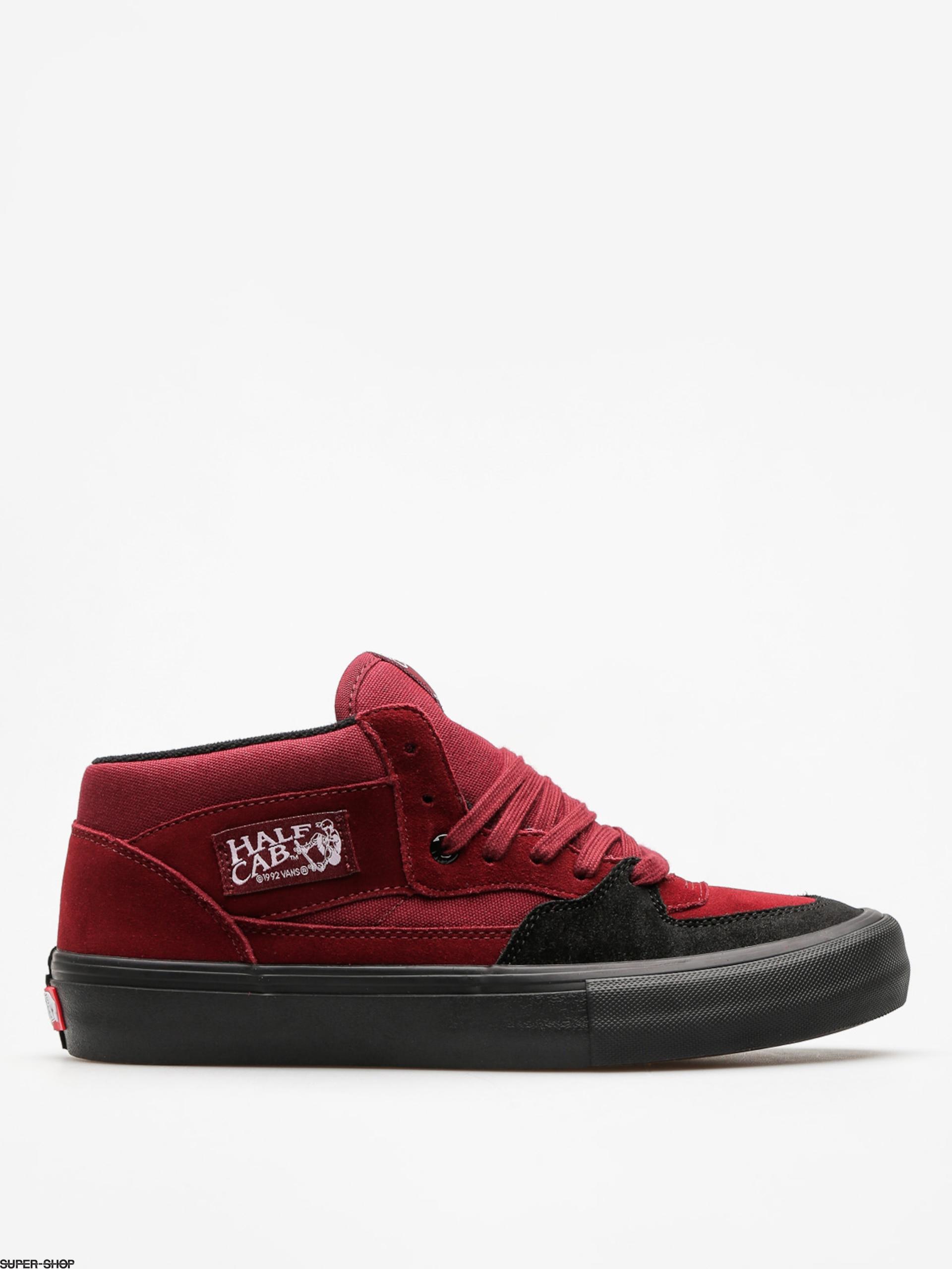7252c5e09a87 Vans Shoes Half Cab Pro (cabernet black black)
