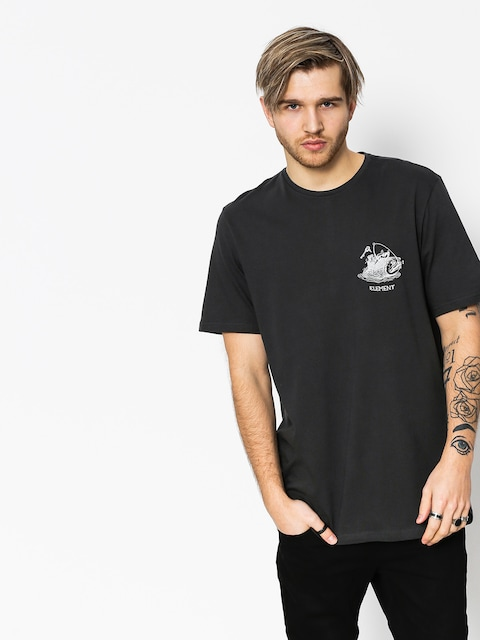 Element T-shirt Hooked (off black)