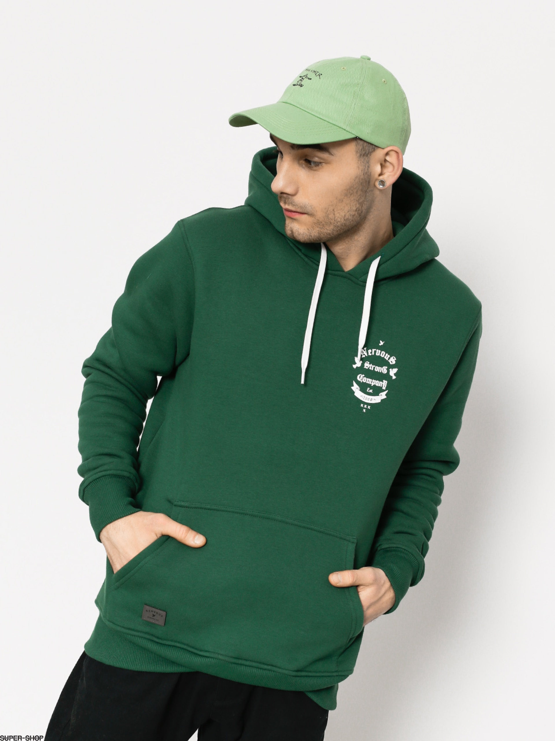 Nervous Hoodie Arms HD (green)