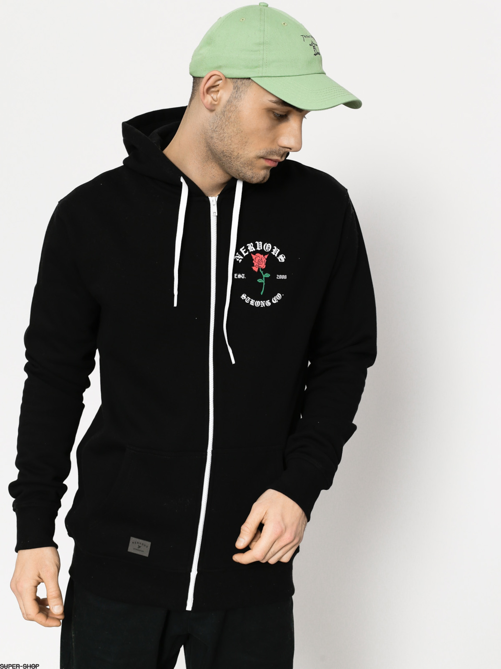 Nervous Hoody Rose ZHD (black)