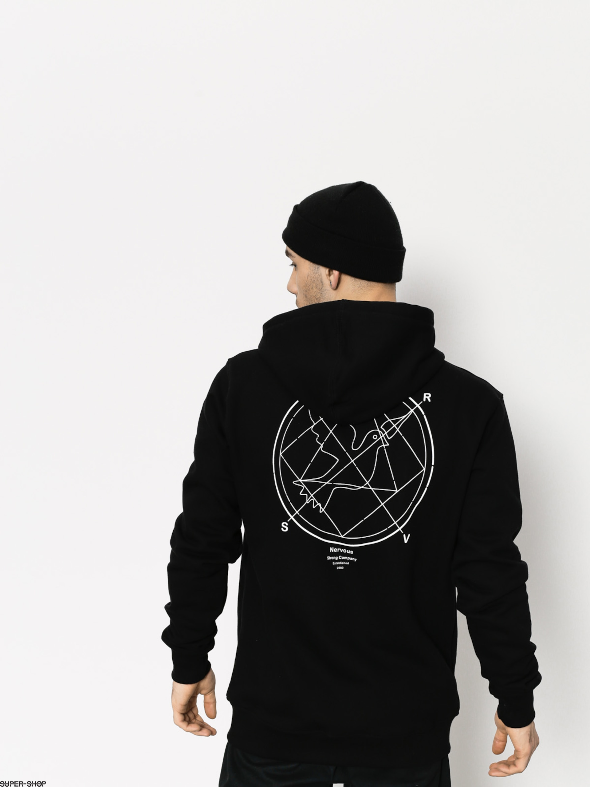 Nervous Hoodie Ratio ZHD (black)