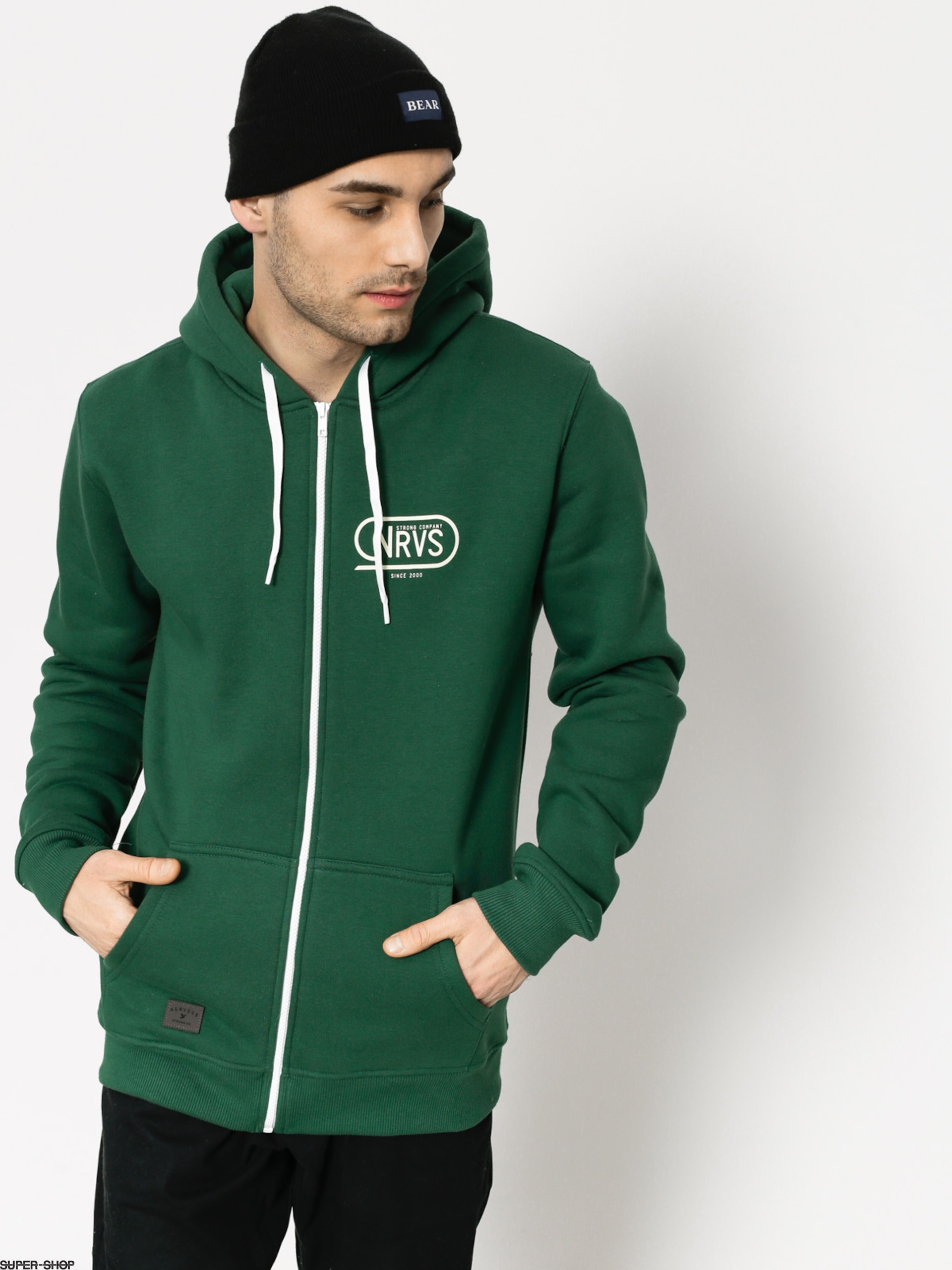 Nervous Hoody Race ZHD (green)