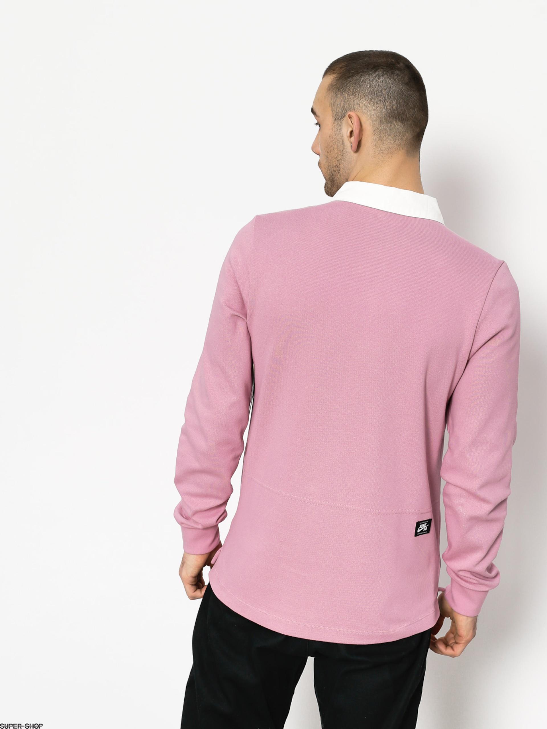 0de9d8f9274 Nike SB Longsleeve Dry Top Rugby (elemental pink/white)