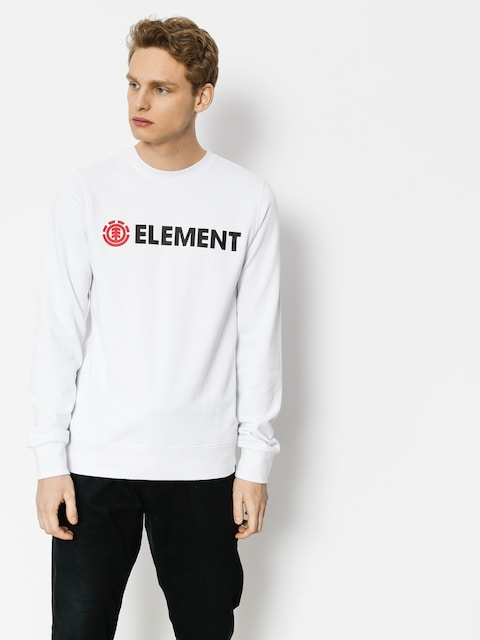 Element Sweatshirt Blazin Crew (optic white)