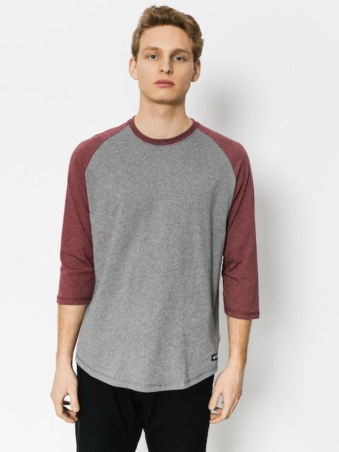 Element T-Shirt Basic Raglan Qtr (grey heather)