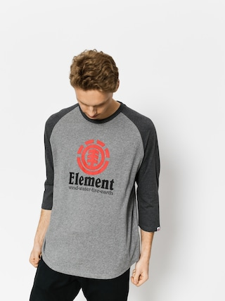 Element T-shirt Vertical Raglan Qtr (grey heather)