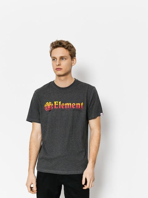Element T-shirt Horizontal Fill (charcoal heathe)
