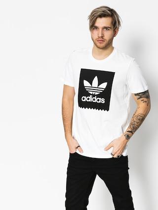 adidas T-shirt Solid Bb (white/black)
