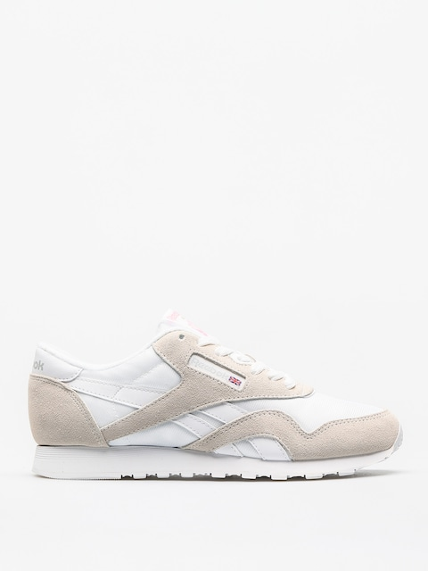 Reebok Sneakers Classic Nylon Wmn (white/light grey)