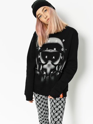Diamante Wear Sweatshirt Dropping Heat Wmn (black)