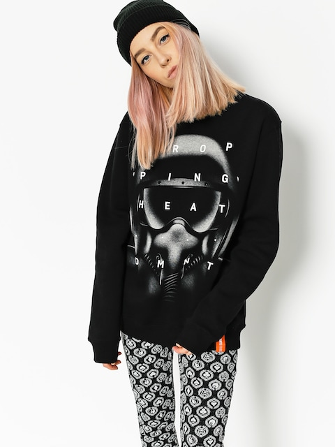 Diamante Wear Sweatshirt Dropping Heat Wmn