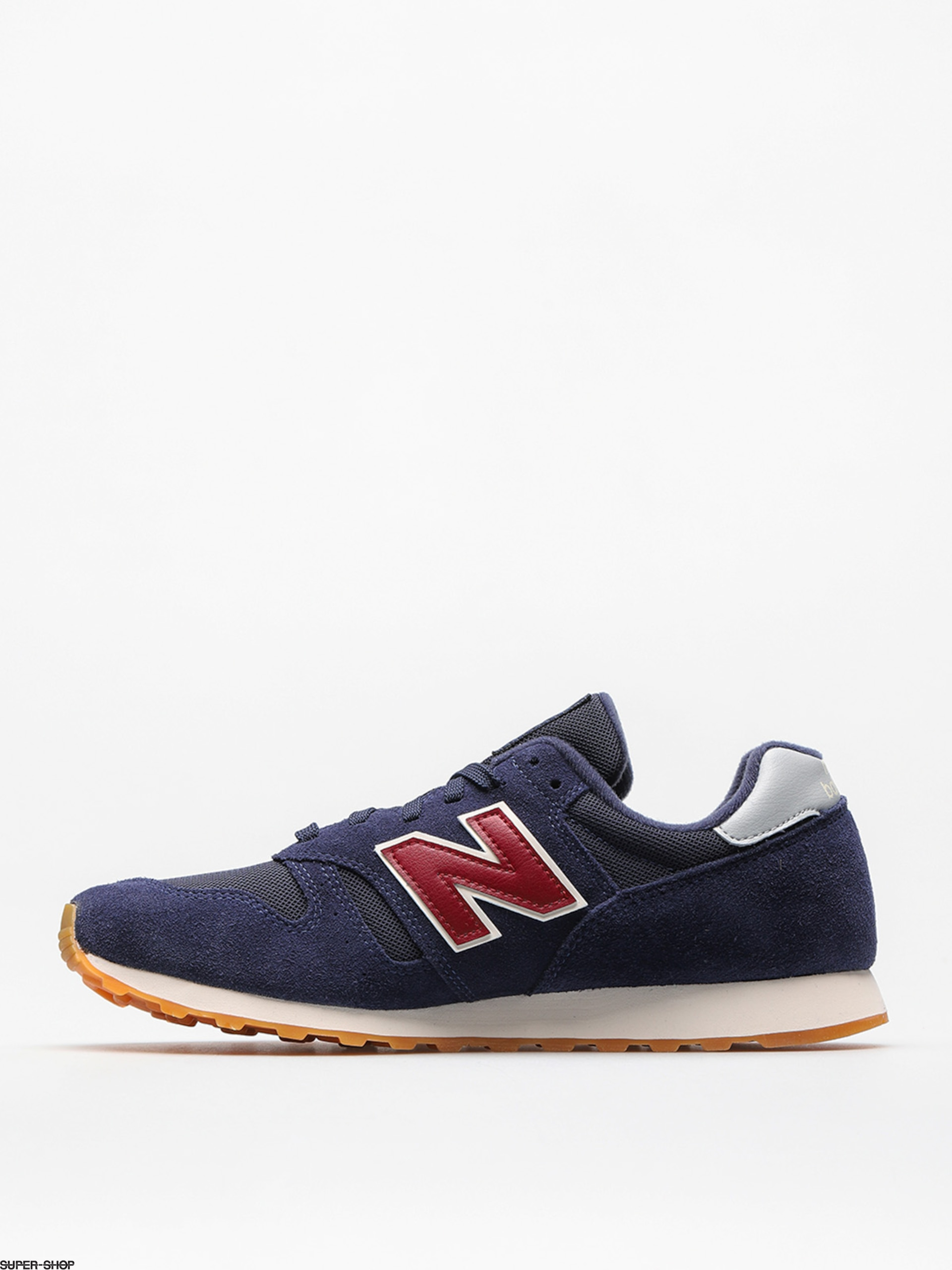 New Balance Shoes 373 (navy/red)
