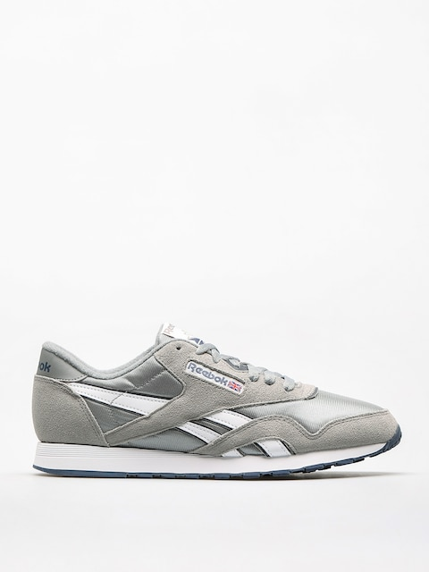 Reebok Shoes Cl Nylon (platinum/jet blue)