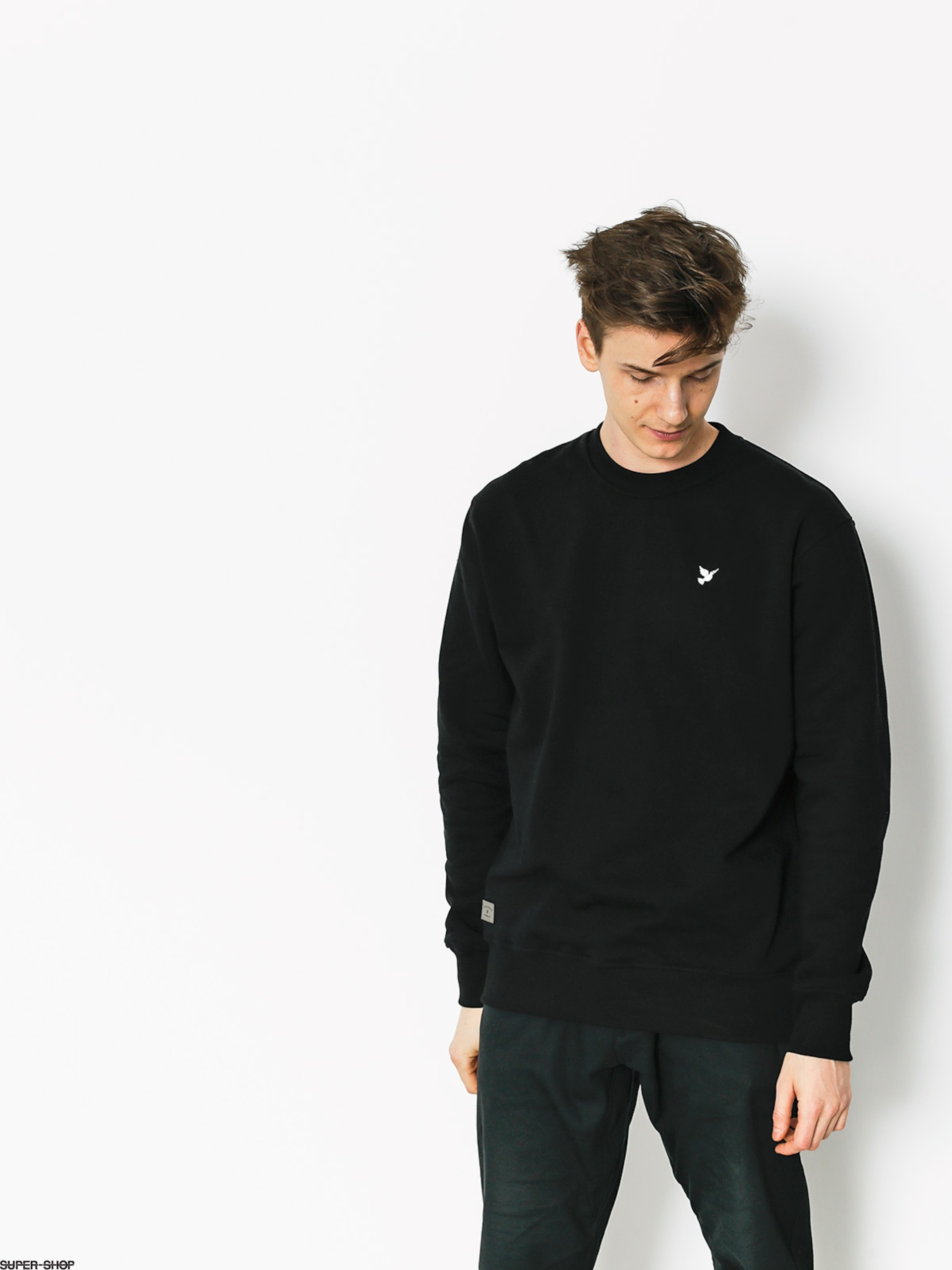 Nervous Sweatshirt Icon (black)