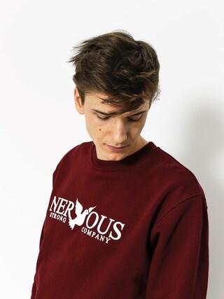 Nervous Sweatshirt Classic (maroon)