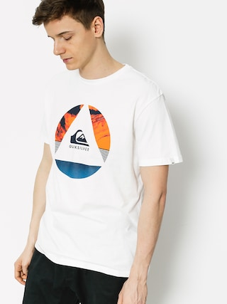 Quiksilver T-Shirt Classic Fluid Turns (white)