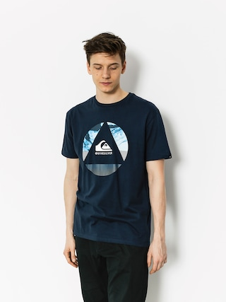 Quiksilver T-Shirt Classic Fluid Turns (navy blazer)