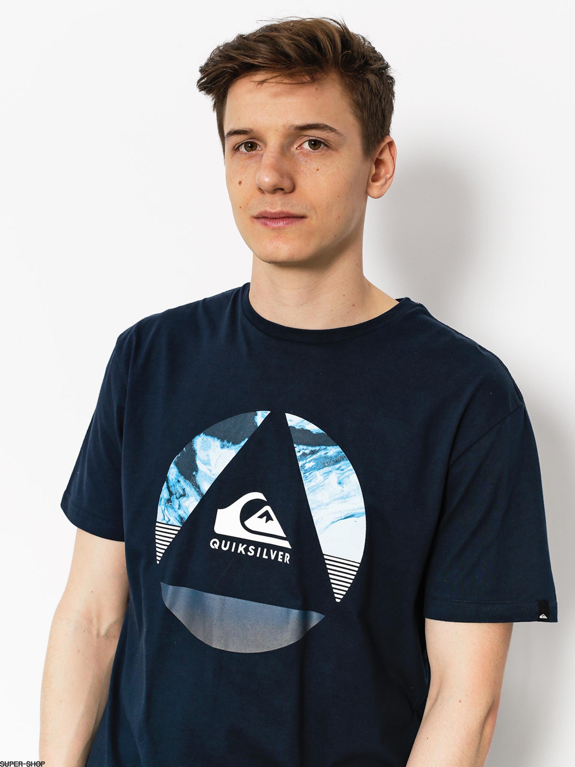 Quiksilver T-shirt Classic Fluid Turns (navy blazer) eb87e3b783