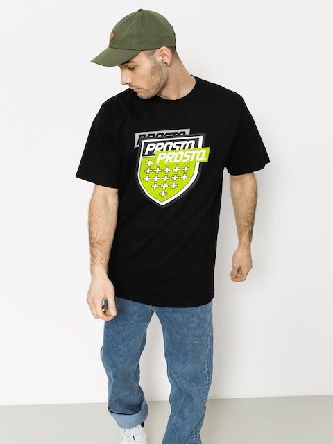 Prosto T-Shirt Splitting (black)
