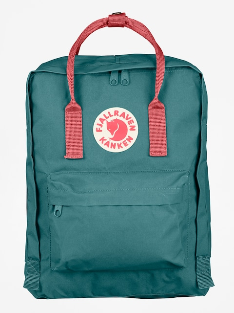Fjallraven Backpack Kanken (frost green-peach pink)
