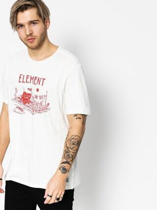 Element T-shirt River Dreams (bone white)