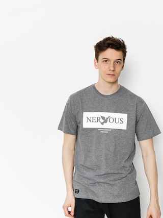 Nervous T-shirt Brandbox (grey)