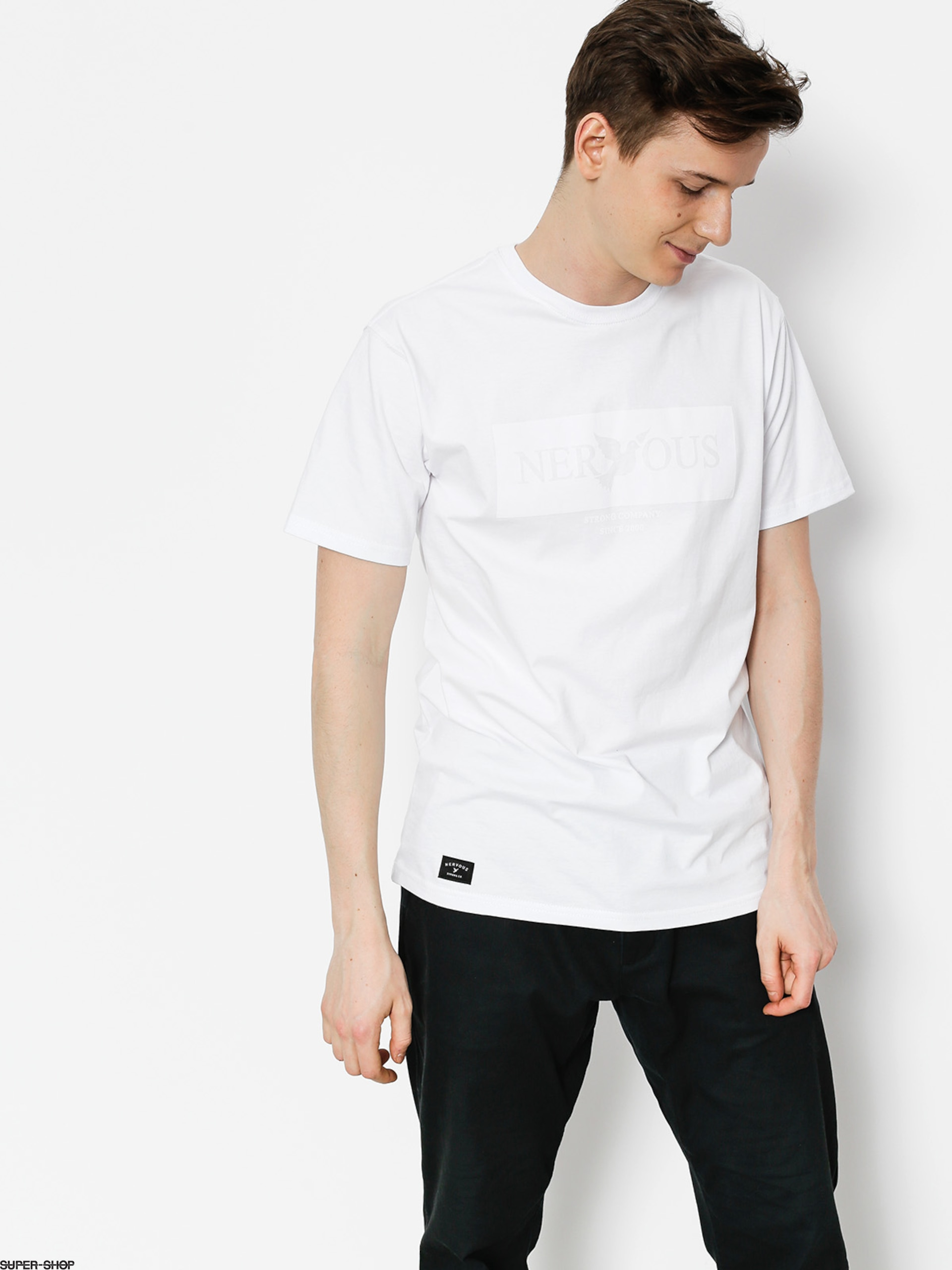 Nervous T-shirt Brandbox (white)