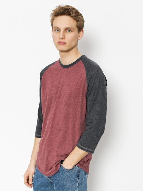 Element T-shirt Koszulka Basic Raglan Qtr (oxblood heather)