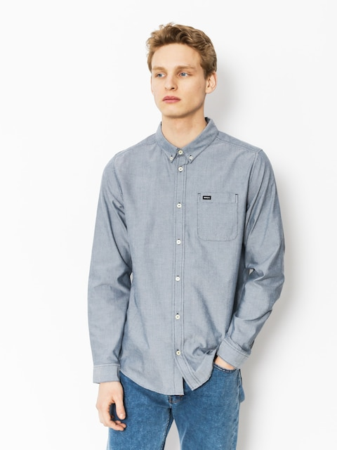 RVCA Shirt That'Ll Do Oxford Ls (distant blue)