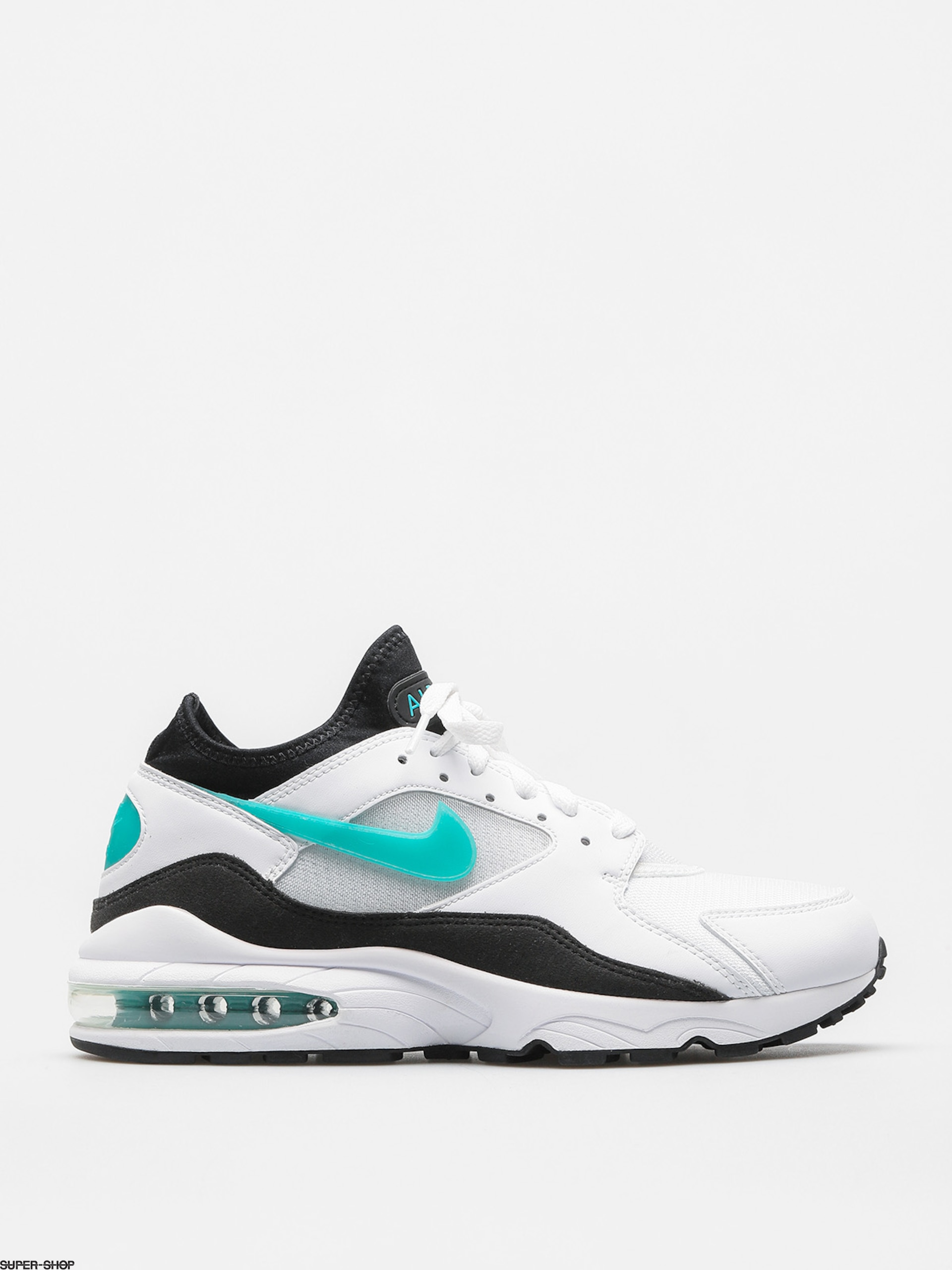 Nike Shoes Air Max 93 (white/sport turq black)