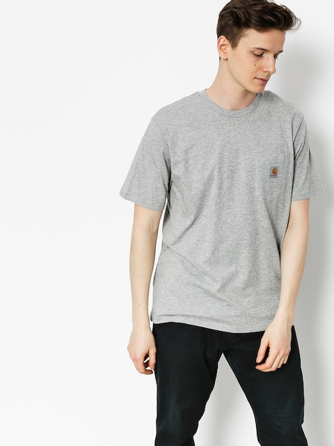 Carhartt T-shirt Pocket (grey heather)