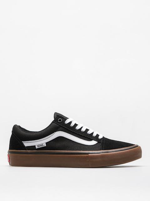 Vans Schuhe Old Skool Pro (black/white/medium/gum)
