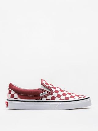 Vans Schuhe Classic Slip On (checkerboard/apple/butter/true/white)