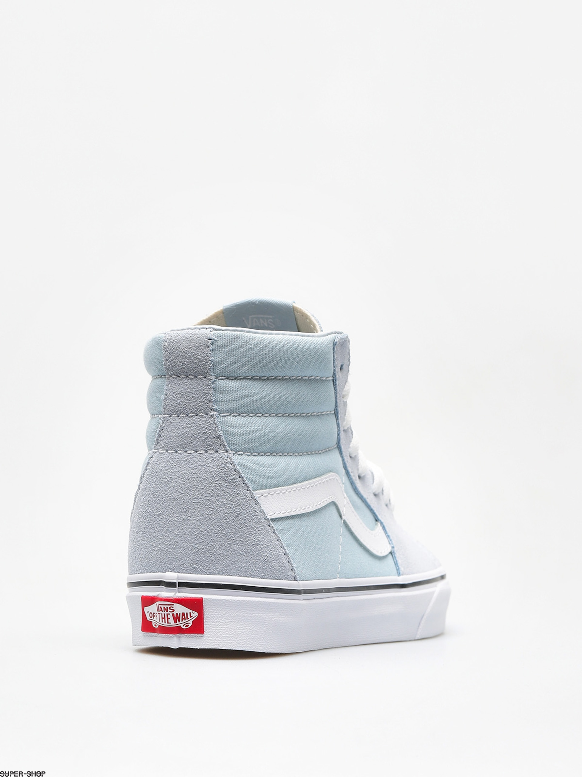 f925b07d8a30 Vans Shoes Sk8 Hi (baby blue true white)