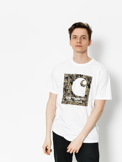 Carhartt T-shirt C Collage (white)