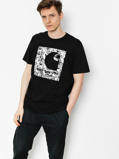 Carhartt T-Shirt C Collage (black)